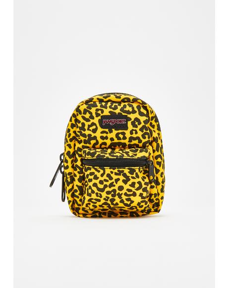 Yellow Leopard Life Lil' Break Pouch