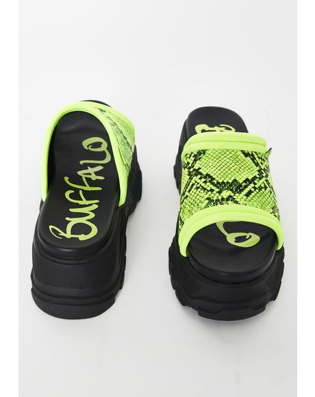 GLDR OT Platform Sandals