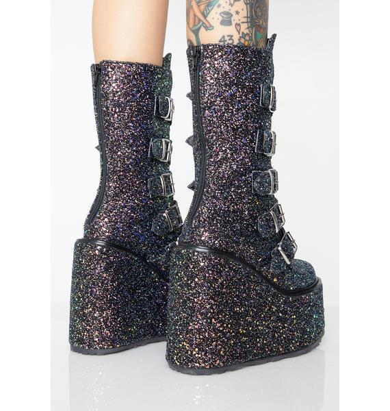 Demonia Luna Lovesick Trinity Boots