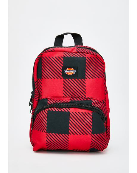 Buffalo Plaid Mini Backpack