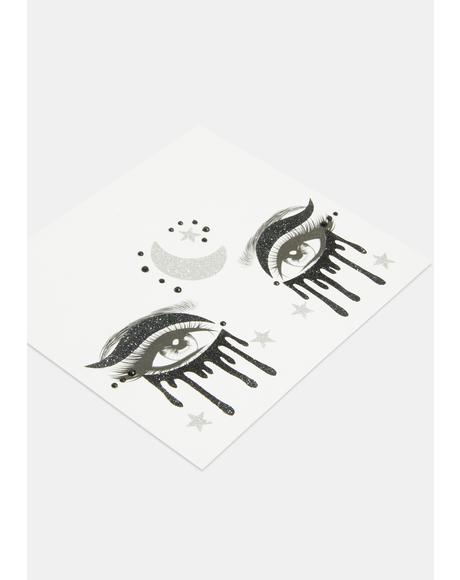 Mystical Eyes Face Stickers