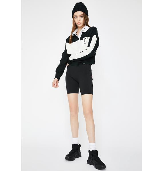 Champion Black Everyday Bike Shorts