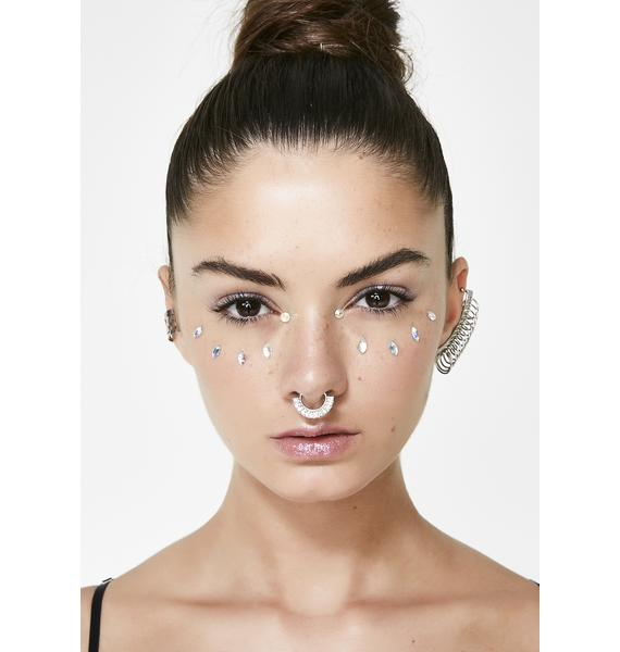Stoned Septum Ring