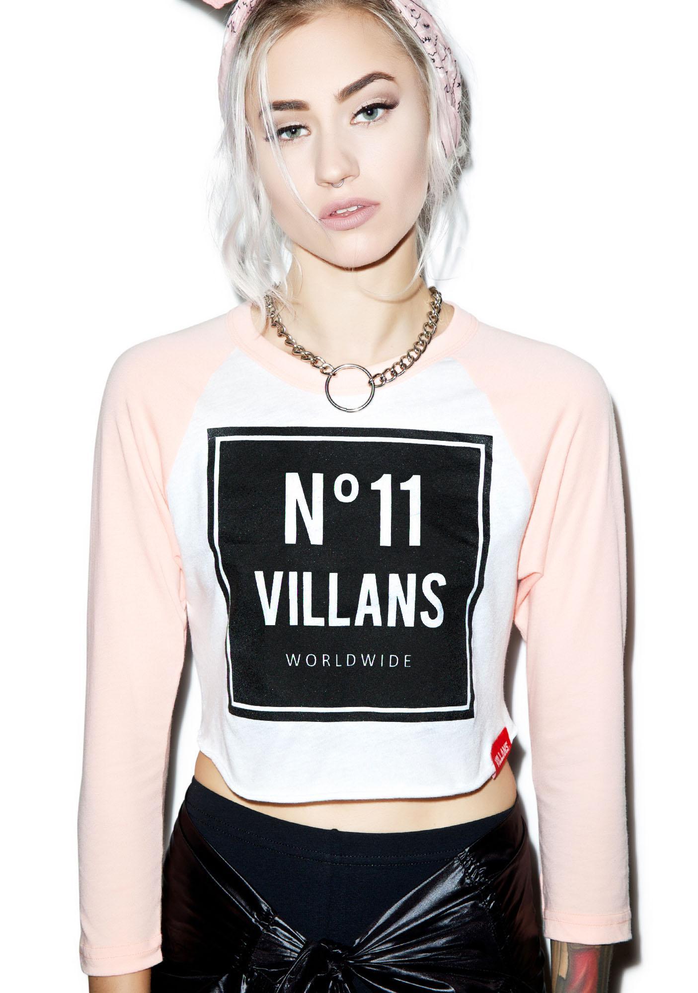 Villans Worldwide 11 Raglan