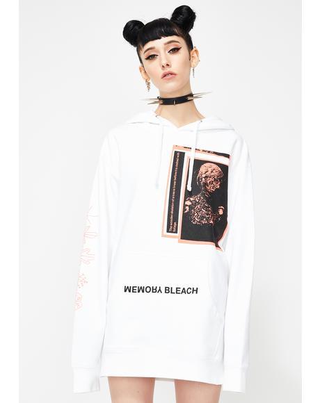 Bleach Pullover Hoodie
