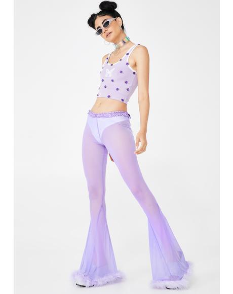 Lilac Glamorous Bells