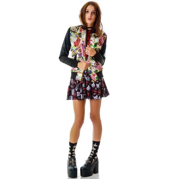 Joyrich Juke Box Floral Reverse Jacket