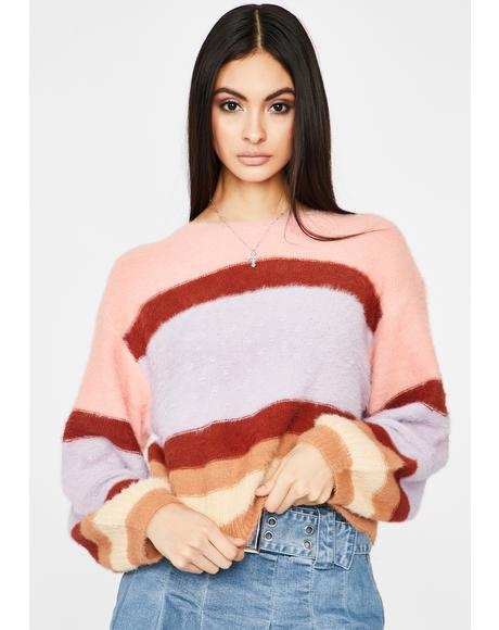 Spoiled N' Sassy Stripe Sweater