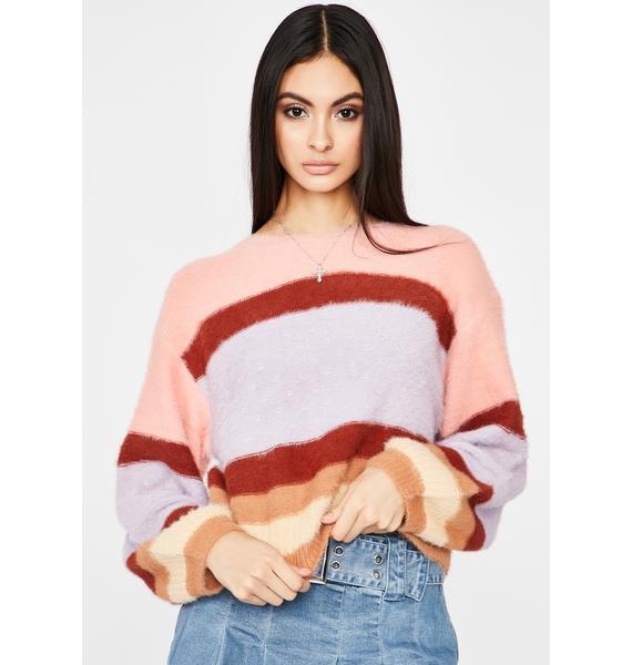 Spoiled N' Sassy Stripe Sweater