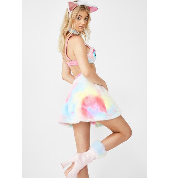 Dolls Kill Iconic Hoot Couture Fuzzy Set
