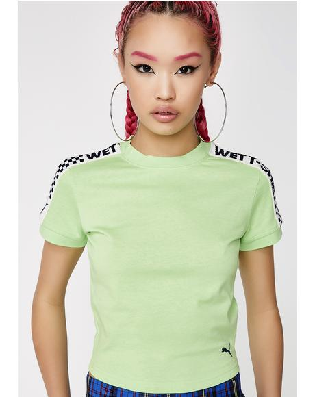 Gecko FENTY PUMA By Rihanna Short Sleeve Cropped Tee
