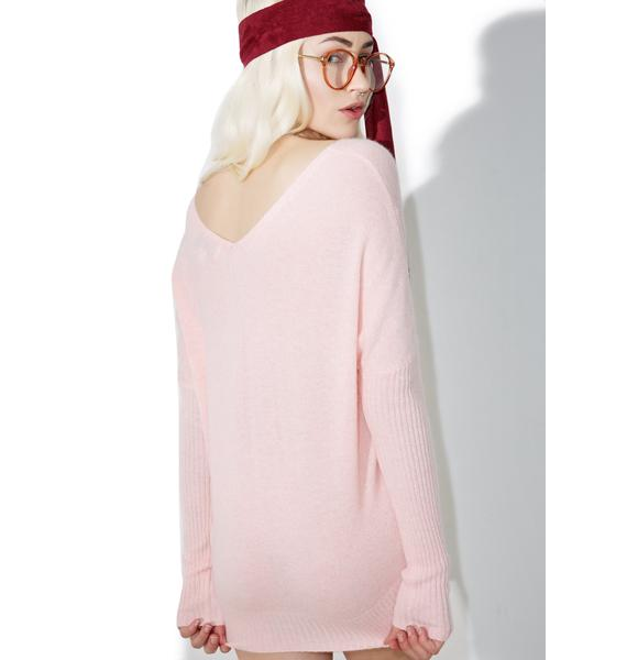 Wildfox Couture Shhh Embroidered Tabatha Sweater
