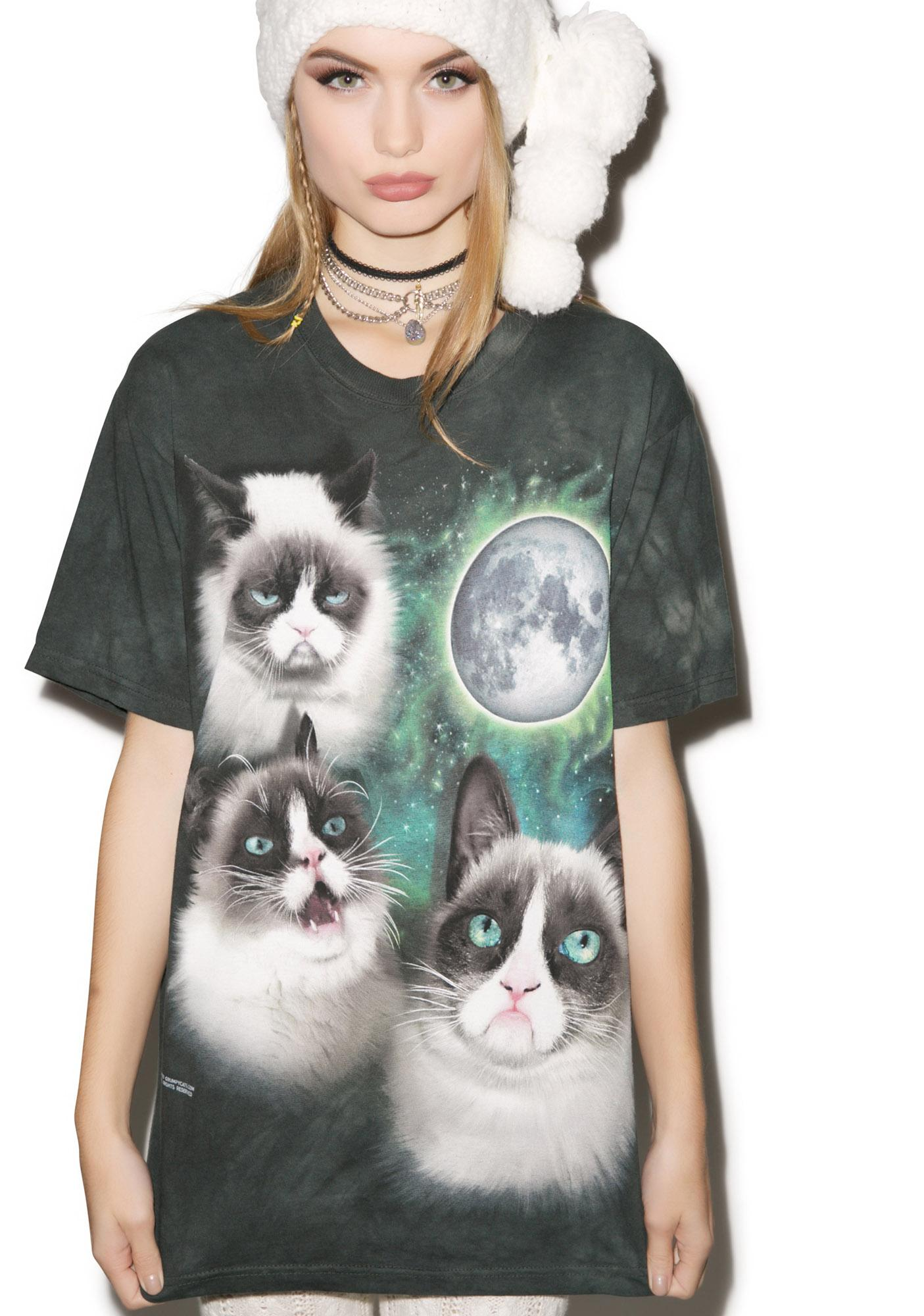 Many Moodz Ago Grumpy Cat Top
