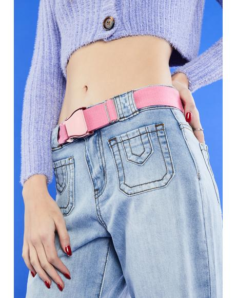 Baby Cut It Out Buckle Belt