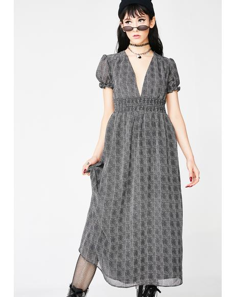 Check On Me Midi Dress