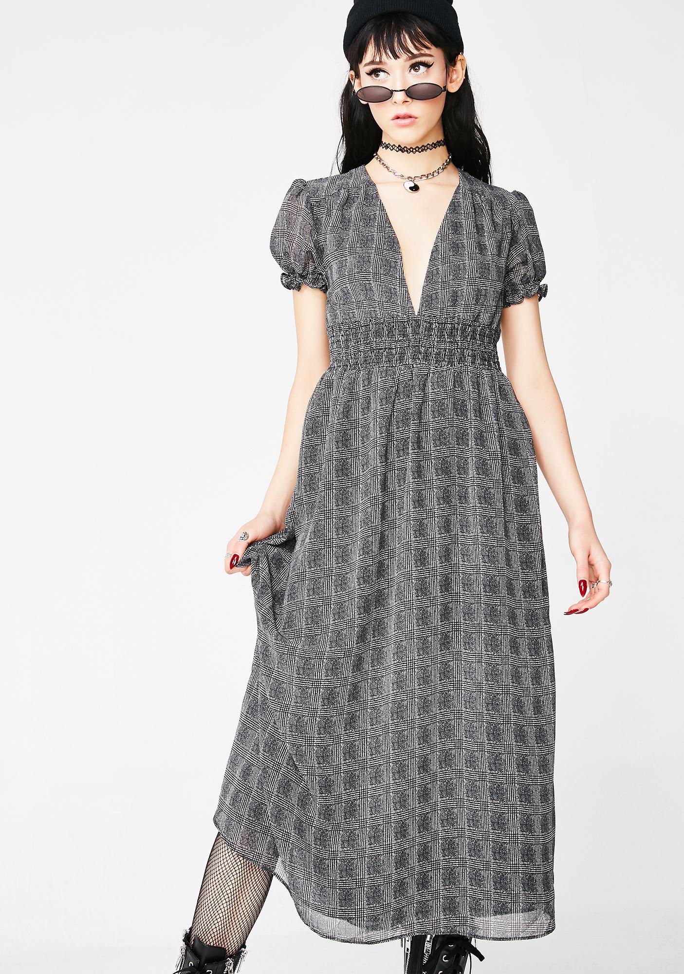 Check On Me Midi Dress