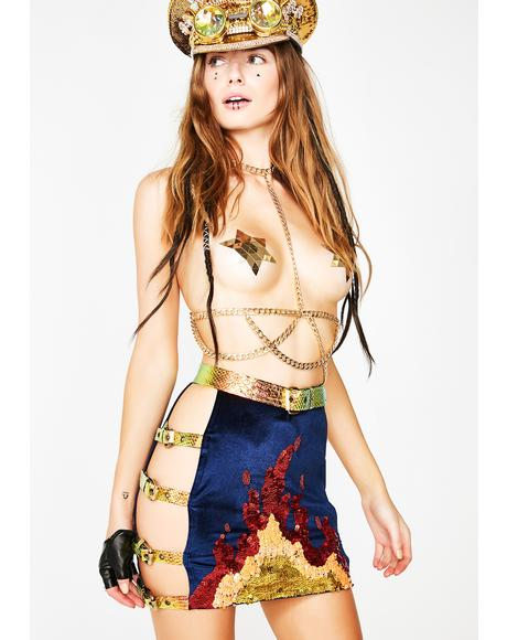 Dragon Tamer Harness Skirt