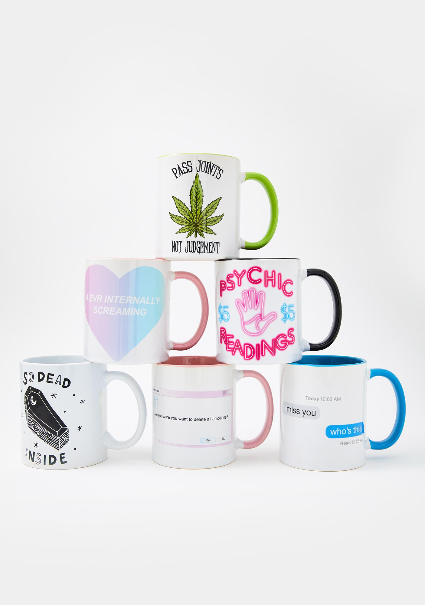 Femfetti Green Pass Joints Coffee Mug