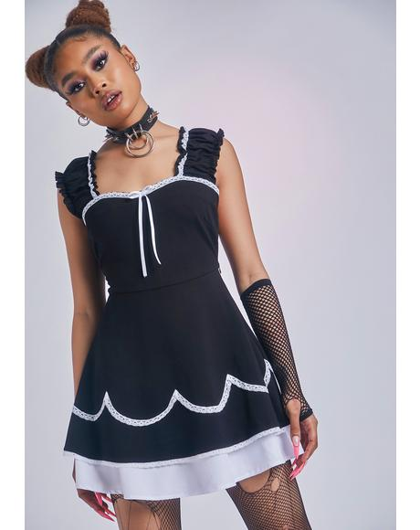 Secret Paramour Pinafore Dress