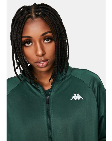 Green 222 Banda Blaston Track Jacket