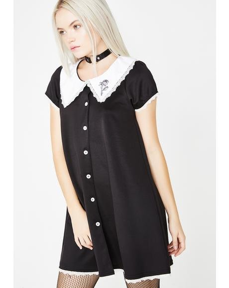 Everything Ends Button Down Bambi Dress