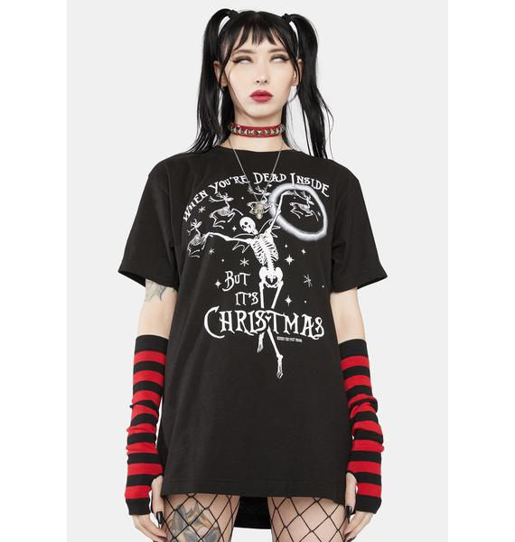 Too Fast Dead Inside Graphic Tee