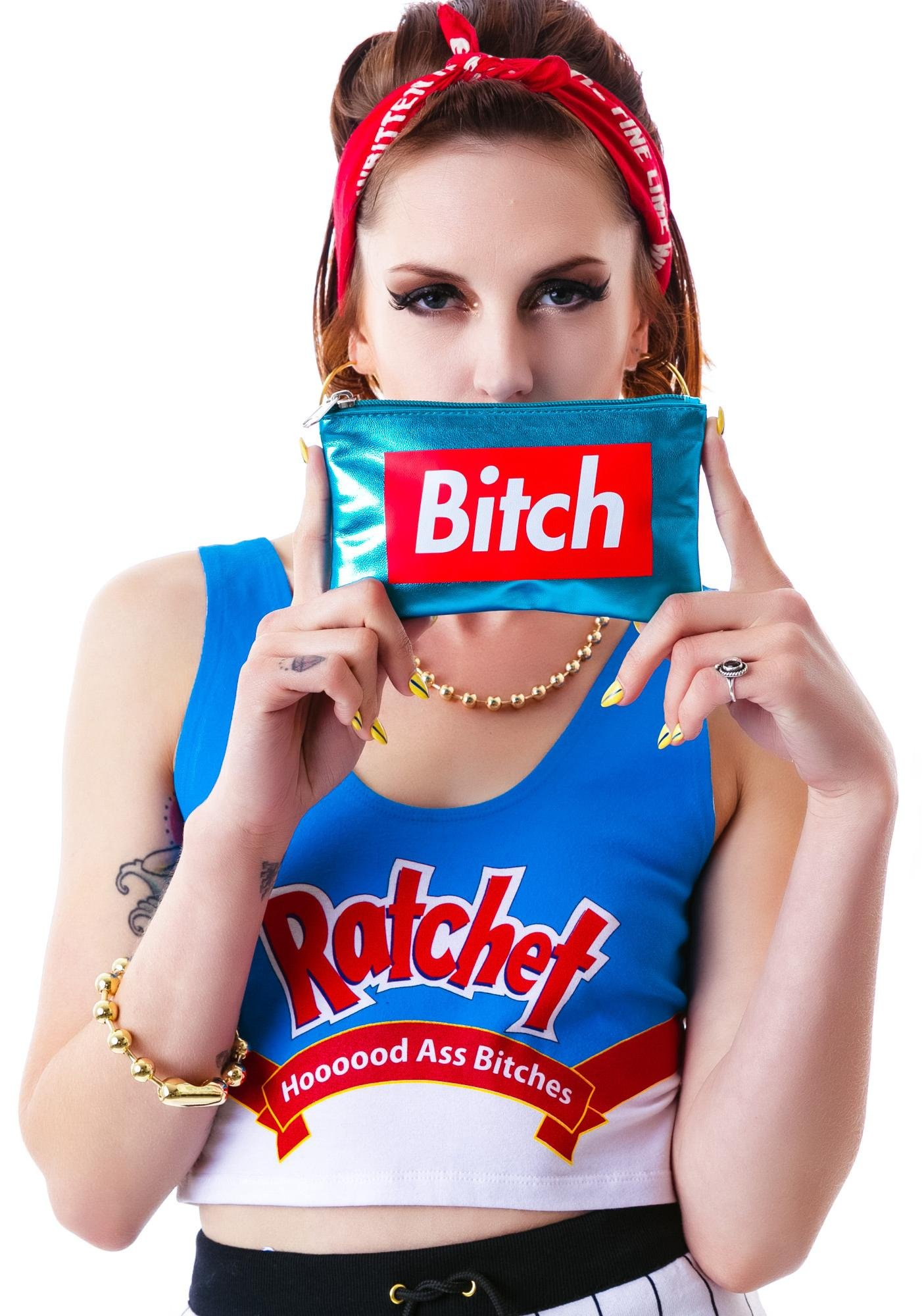 Married to the Mob 7x4 Bitch Pouch