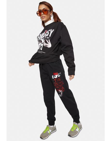 X Playdude Fantasy Safari Sweatpants