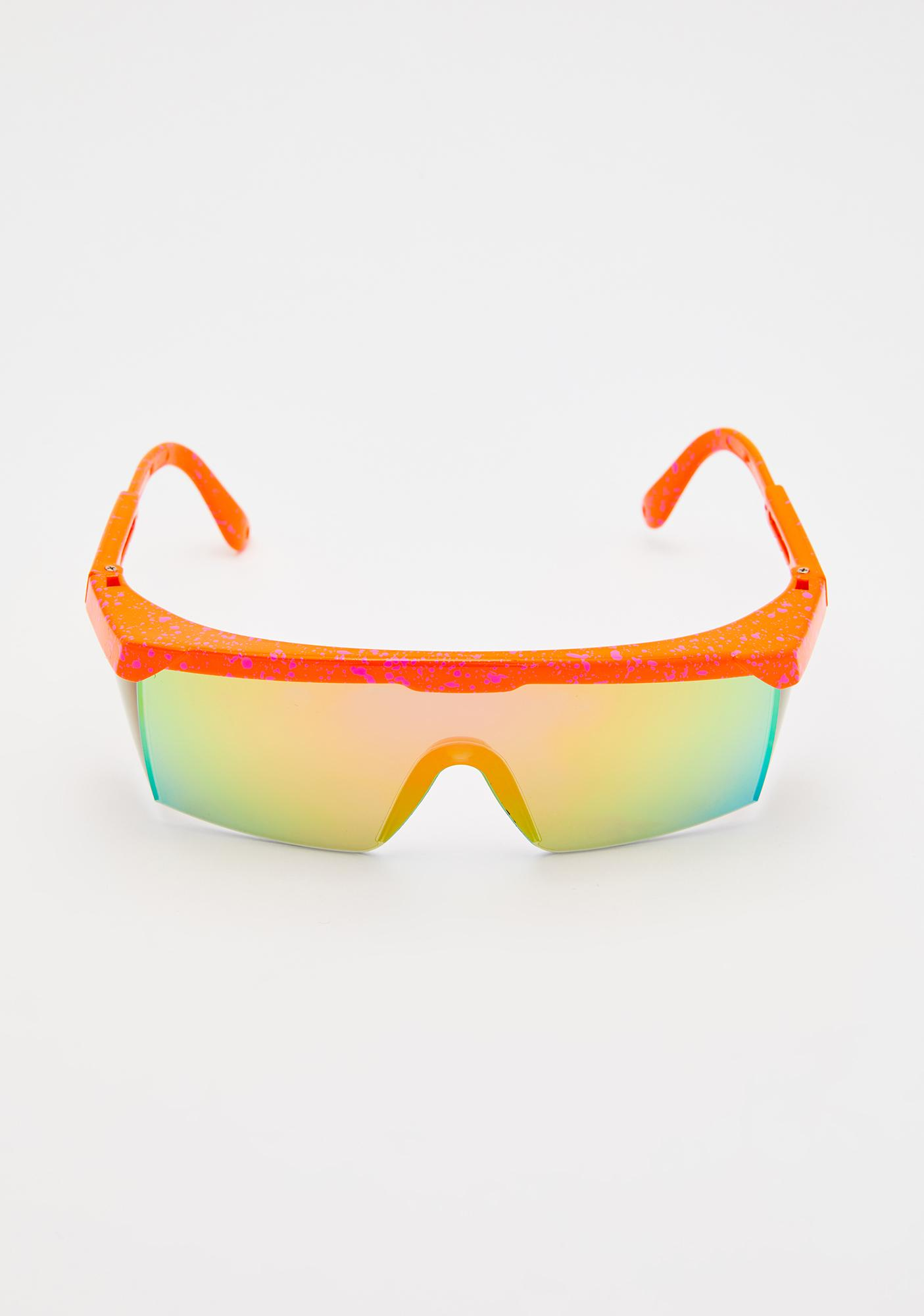 Citrus Hydro Bliss Shield Sunglasses