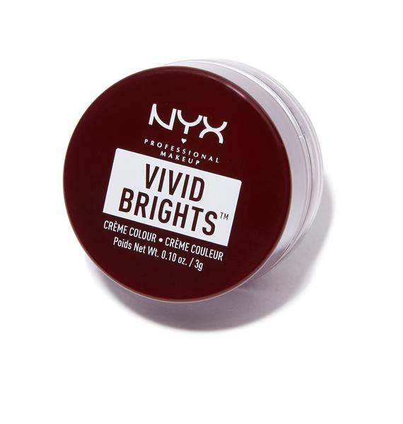 NYX Bad Blood Vivid Brights Creme Colour