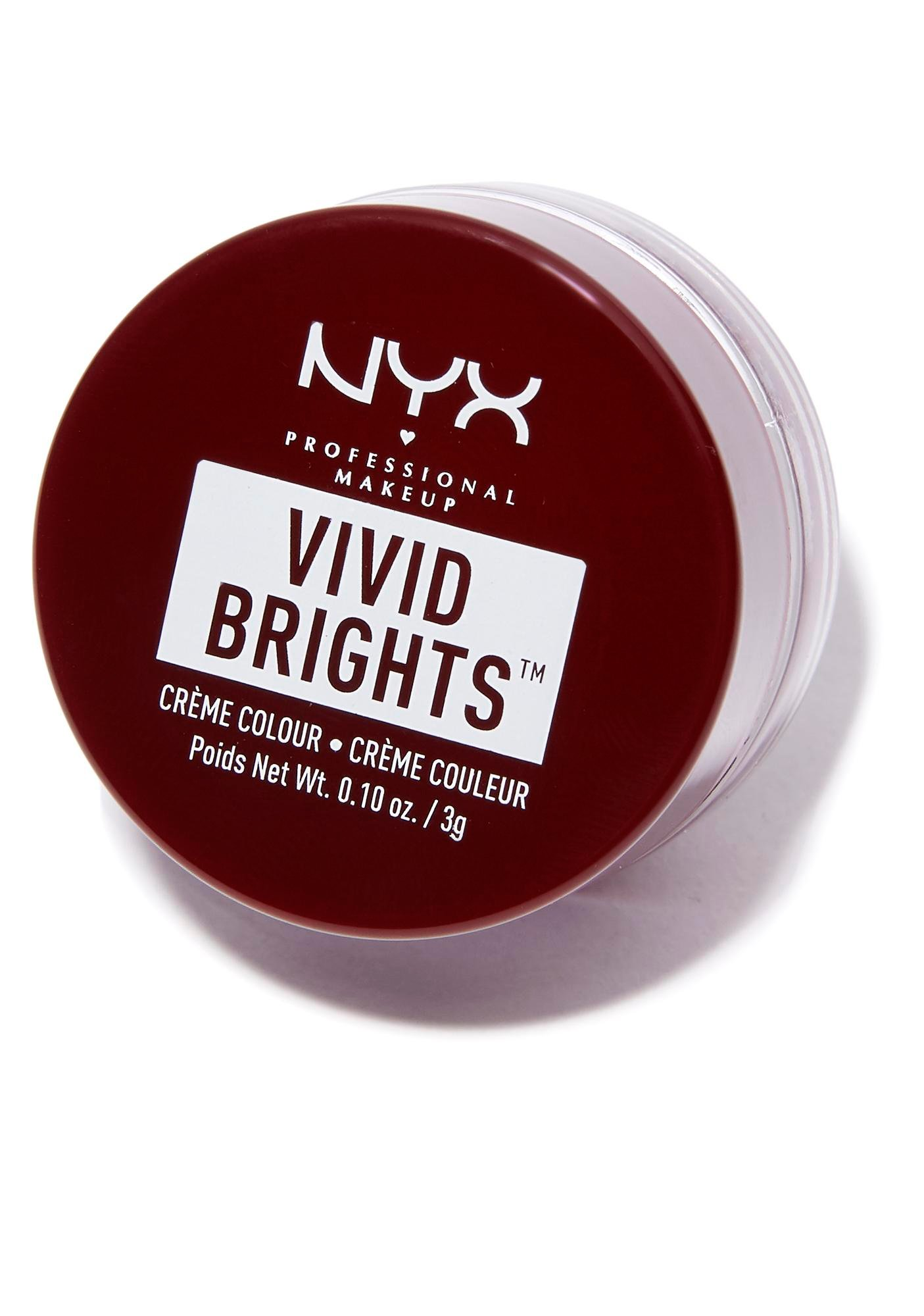 NYX Bad Blood Vivid Brights Creme Colour