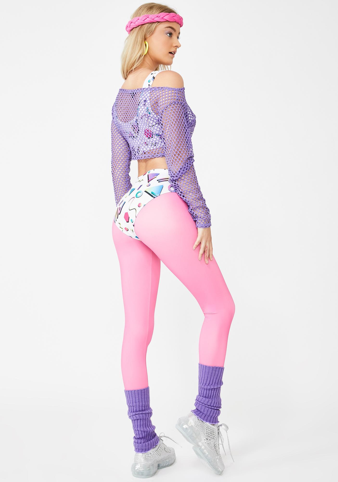 Dolls Kill Boogie Down Costume Set