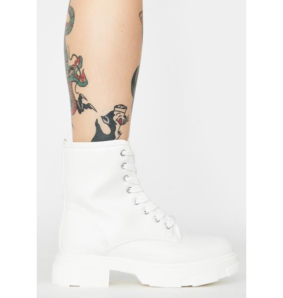 Purely The Dopeness Combat Boots