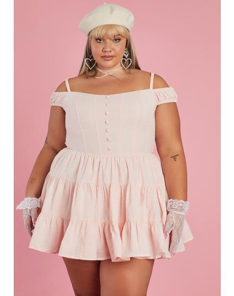 Please Go With Grace Babydoll Dress