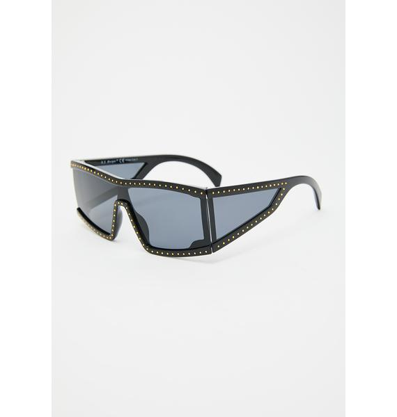 Hippodrome Shield Sunglasses