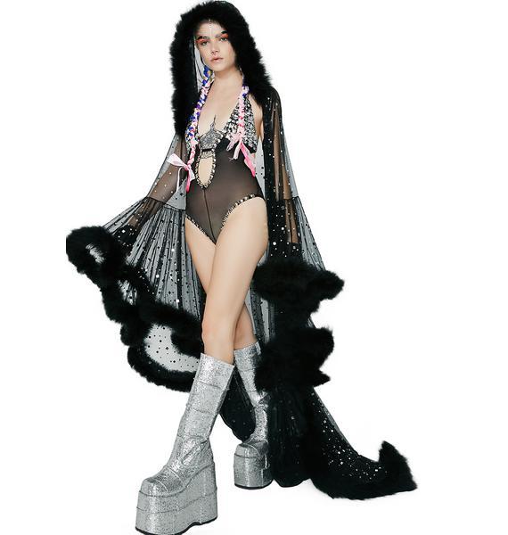 Kiki Riki Musette's Revenge Fluffy Cloak