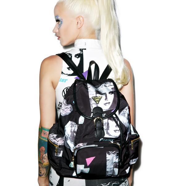 Joyrich Editorial Map Mini Backpack