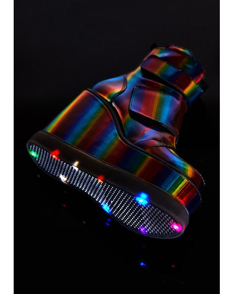 In The Groove Rainbow Platforms