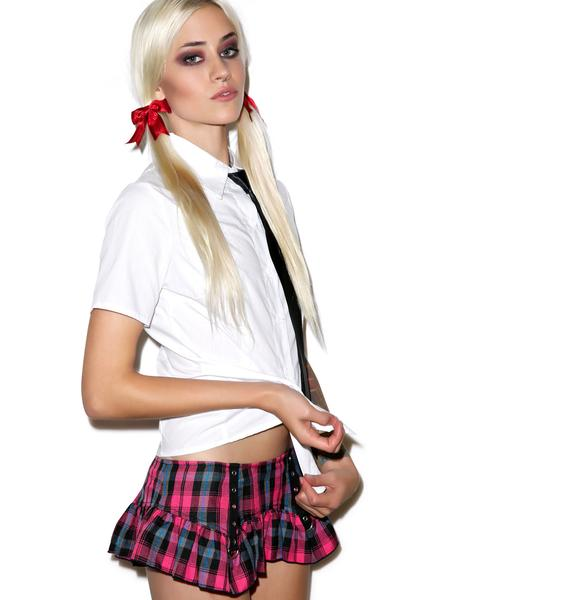 Lip Service Good Girl Plaid Skirt