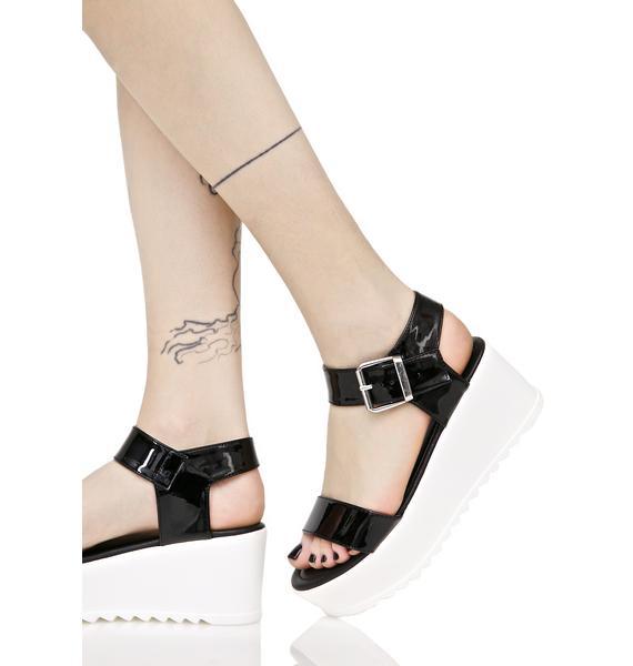 Sidney Platform Sandals