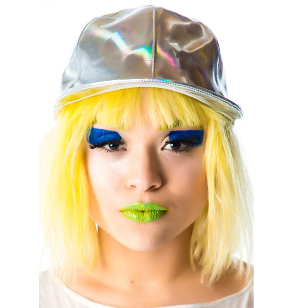Lip Service Hello Hologram Cap