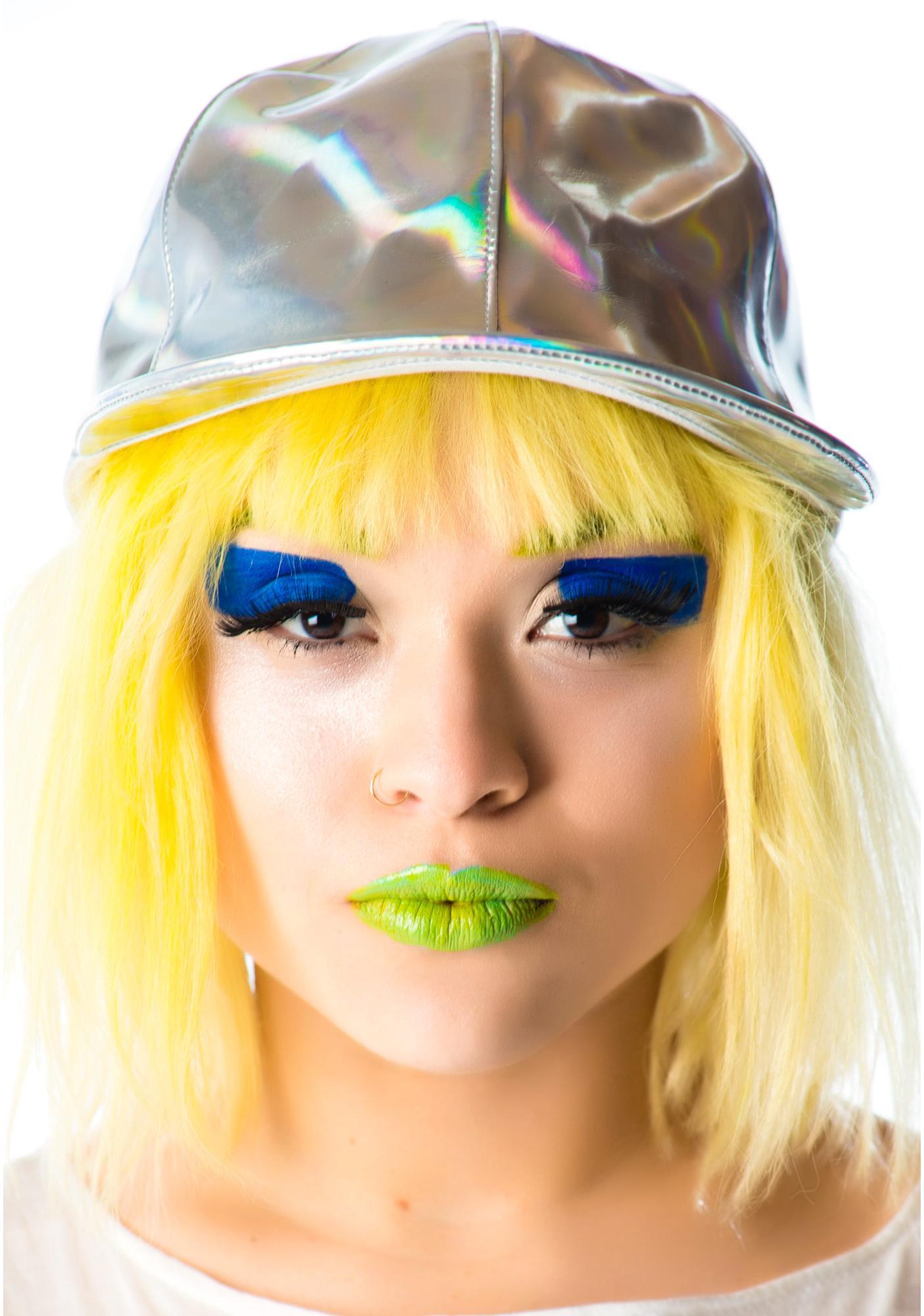 Lip Service Hello Hologram Cap