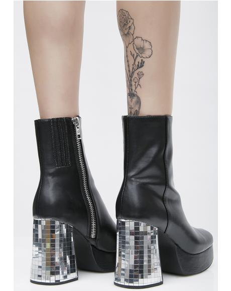 Dirty Disco Platform Boots