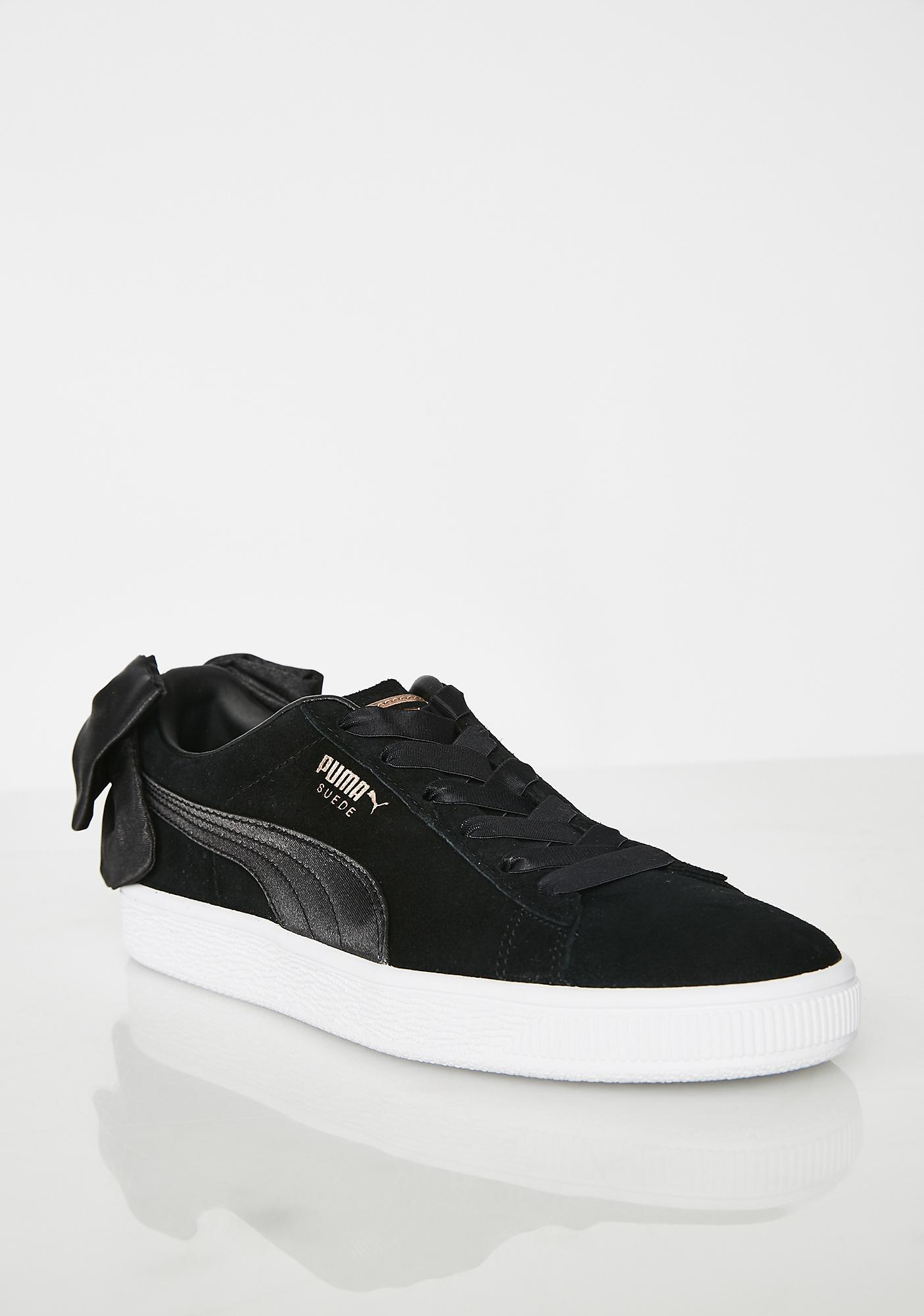 Puma BOW SUEDE SNEAKERS KhZ7ri