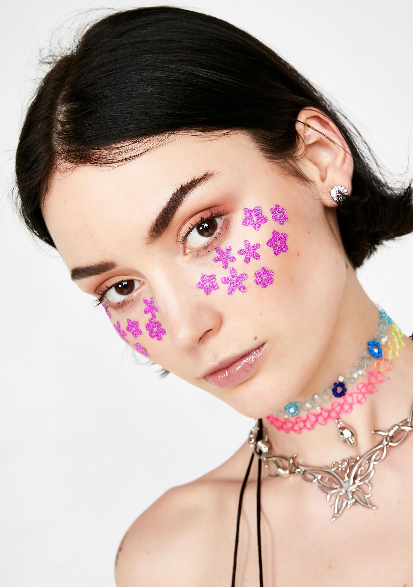 Stinnys Flower Body N' Face Stickers