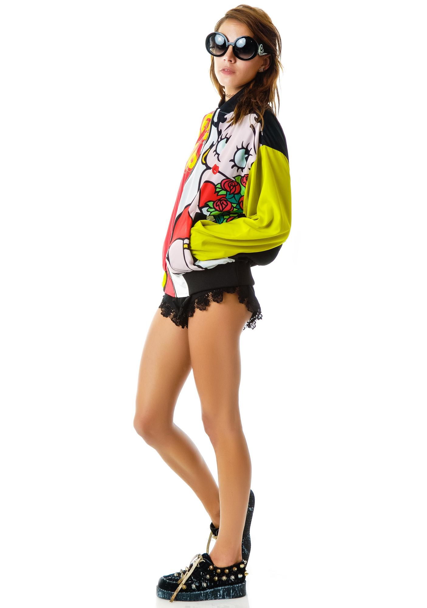 Joyrich Betty Boop Athletic Jacket