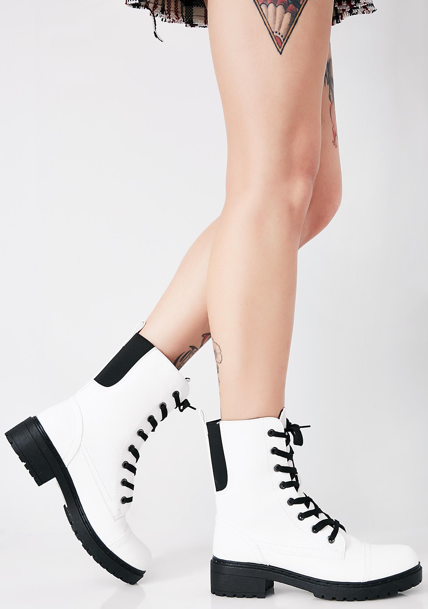 Stomp Sesh Combat Boots