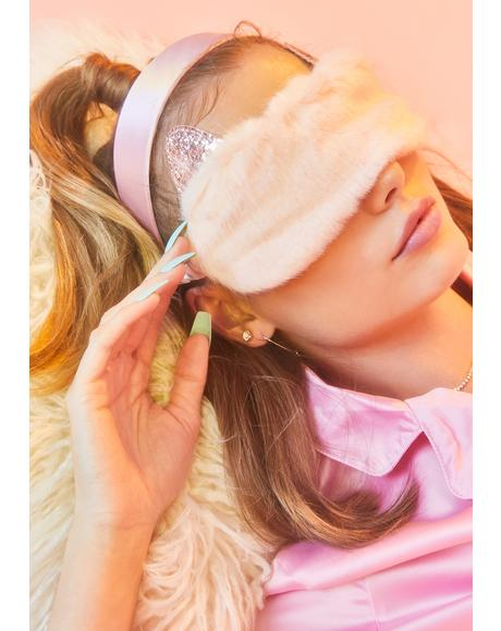 Cat Eye Sleeping Mask