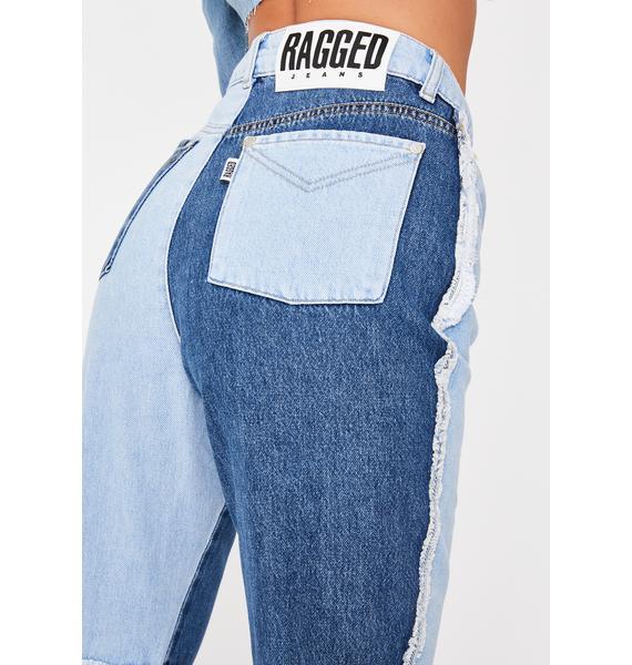 The Ragged Priest Equilibrium Quarter Panel Jeans
