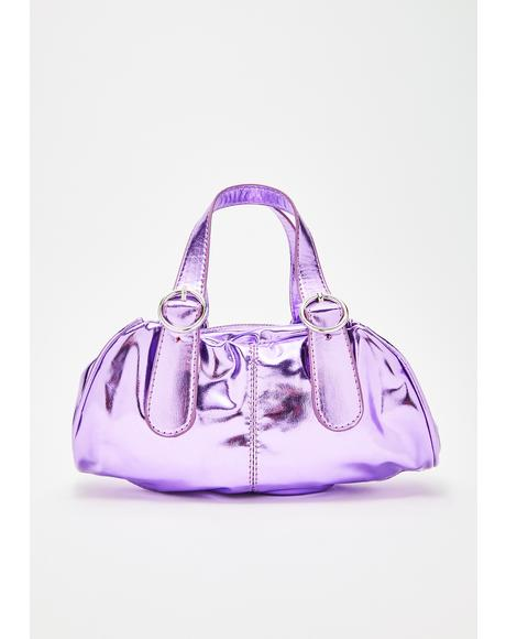 The Spoiled Life Metallic Bag